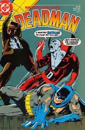 Deadman in coppia con Batman, disegno di Neal Adams.