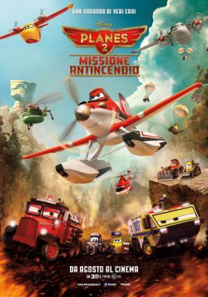 Planes 2 - Missione Antincendio. Poster Italiano