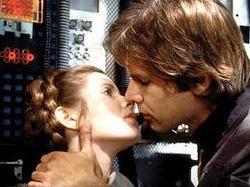Han Solo e la principessa Leila
