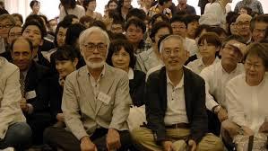 Toshio Suzuki con Hayao Miyazaki