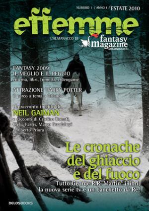 La copertina definitiva dell'Almanacco di Fantasy Magazine