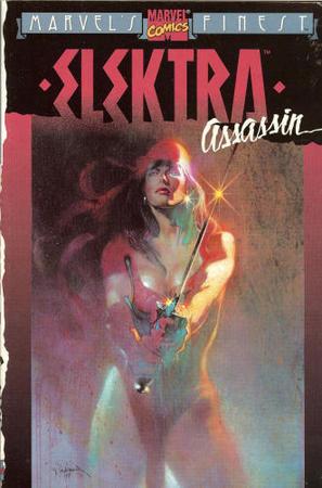 Elektra Assassin - Disegno di Bill Sienkiewicz.