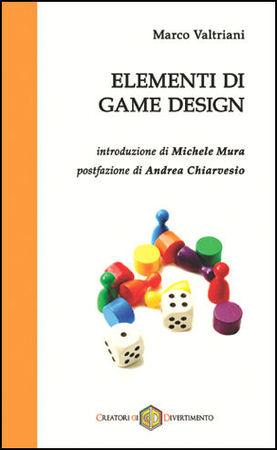 La copertina di Elementi di Game Design