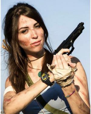 Eleonora Scorta è Lara Croft