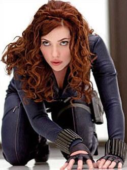 Scarlett Johannson è la Vedova Nera