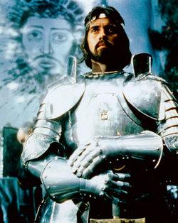 Nigel Terry, Re Artù in Excalibur