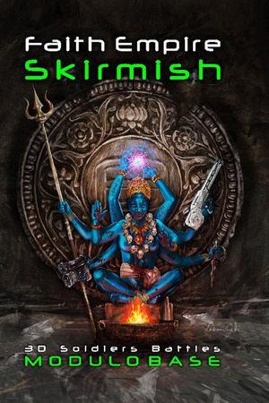 L'inquietante copertina di Faith Empire Skirmish