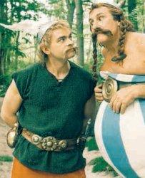 Obelix e il nuovo Asterix