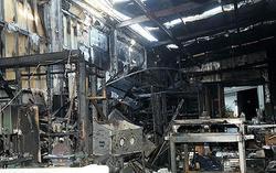 Il magazzino dello Hobbit distrutto nell'incendio