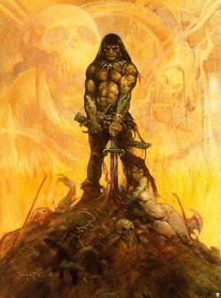 Il Conan di Frank Franzetta