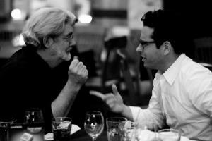 George Lucas e J.J. Abrams a confronto