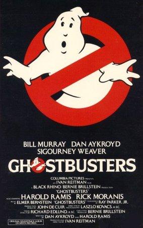 La locandina del primo GhostBusters