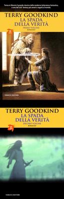 """Volume 1 e volume 10 della Saga """"La Spada della Verità"""", Fanucci Editore"""
