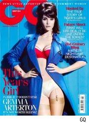 Gemma Arterton sulla copertina di GQ