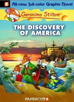 La copertina di Geronimo Stilton