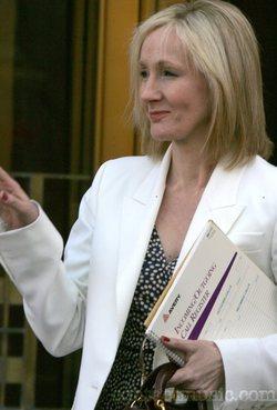 Una recente foto di J.K. Rowling