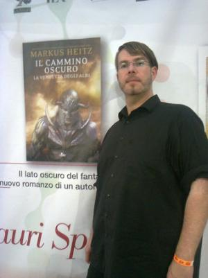 Markus Heitz a Lucca Comics and Games 2014
