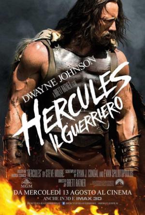 Il poster ufficiale di Hercules il guerriero