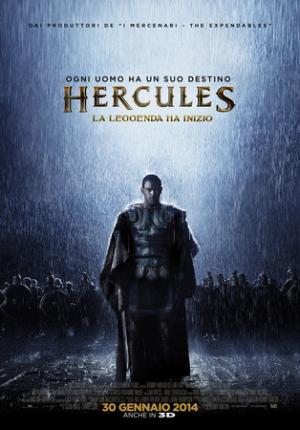 Il poster italiano di Hercules: la leggenda ha inizio