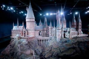 Il modellino del castello di Hogwarts