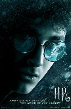 La locandina di Harry Potter e il Principe Mezzosangue