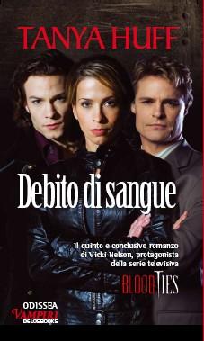 La copertina di Debito di Sangue di Tanya Huff