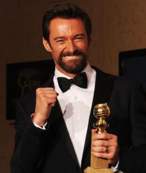 Hugh Jackman vince il Golden Globe per l'interpretazione di Jean Valjean in Les Misérables
