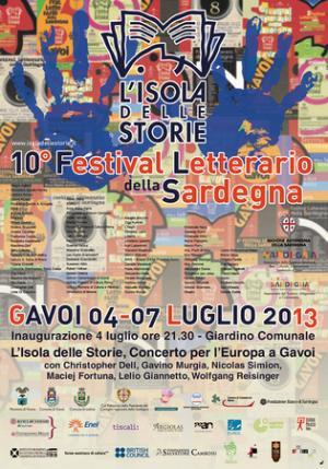 10° Festival Letterario della Sardegna, locandina.