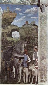 Il ponte di Veja (Mantegna - Palazzo Ducale, Manotva)