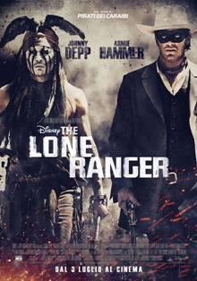 The Lone Ranger, il poster ufficiale