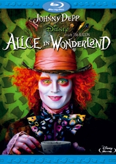 Alice in Wonderland, copertina del Blu-ray