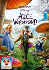 Alice in Wonderland, copertina del DVD