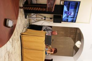 a Lucca Games 2013 la presentazione alla stampa di Andrzei Sapkowski