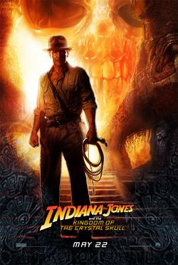 Il poster di Indiana Jones e il Regno del Teschio di Cristallo