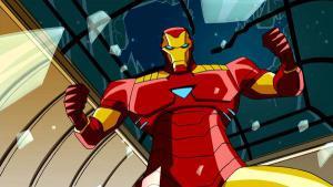 Iron Man nella serie animata Avengers - I più potenti eroi della terra