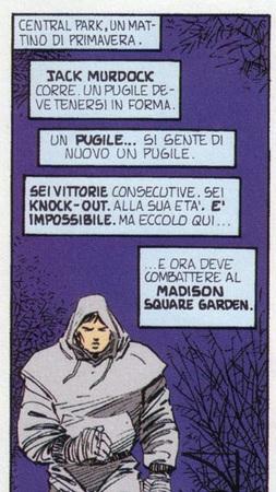 Jack Murdock in una vignetta di John Romita J.r da L'Uomo Senza Paura