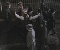 Jhonny Depp nei panni di Sweeney Todd