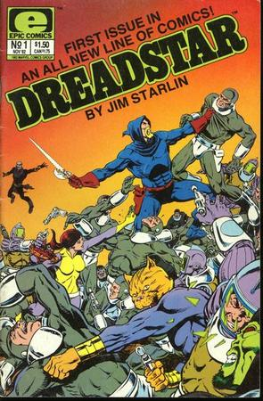 Dreadstar di Jim Starlin