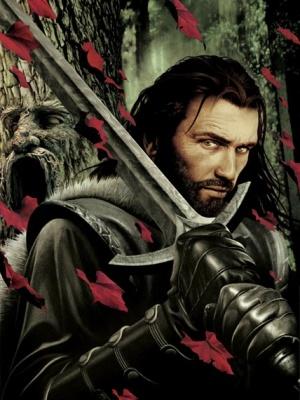 Eddard Stark in un'illustrazione di John Picacio