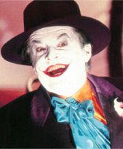 Jack Nicholson nei panni di Joker