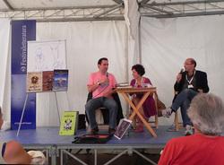 Un momento dell'incontro di Jonathan Stroud al Festivaletteratura di Mantova