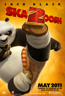 Kung Fu Panda 2: il poster