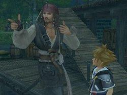 Il cammeo di Jack Sparrow in Kingdom Hearts 2