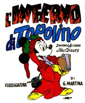 L'Inferno di Topolino (1949) disegni di Guido Martina
