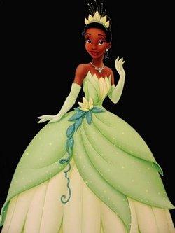La protagonista de La principessa e la rana