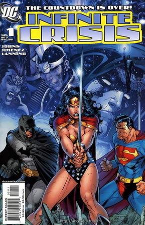 Copertina di Jim Lee per Infinite Crisis, n. 1