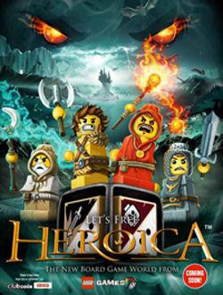 Lego Heroica: botte da... mattoncini.