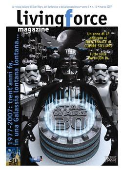 """Cover: """"Star Wars 30"""", disegno di Davide Corsi"""