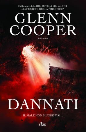 Dannati - Glenn Cooper - editrice Nord, copertina.
