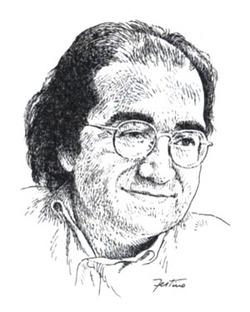 Lippi in un disegno di Giuseppe Festino
